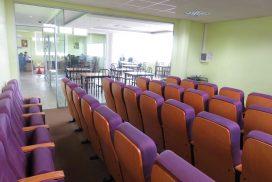 Salle conférence avec équipements, projecteur, téléconf'rence, Octogonia